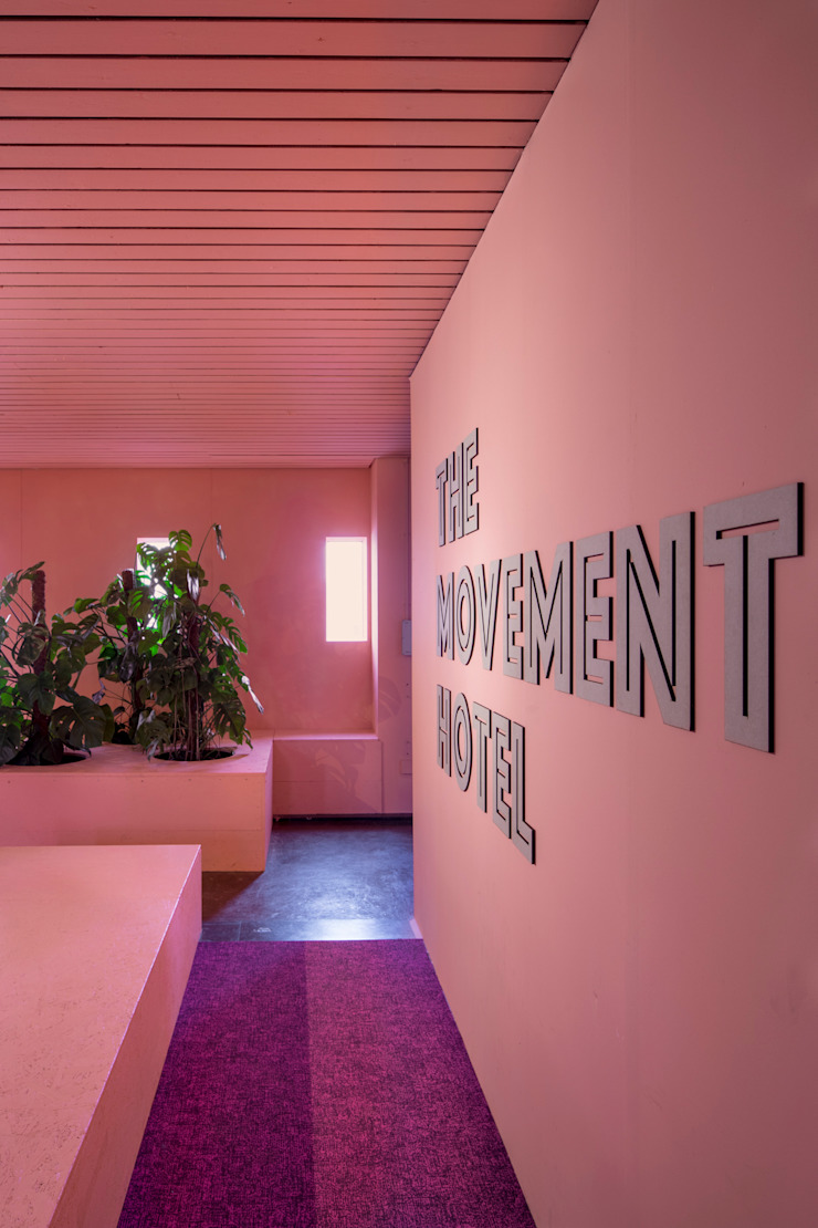 The Movement Hotel Amsterdam Moderne hotels van ÈMCÉ interior architecture Modern