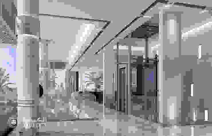 Corredores, halls e escadas modernos por Algedra Interior Design Moderno