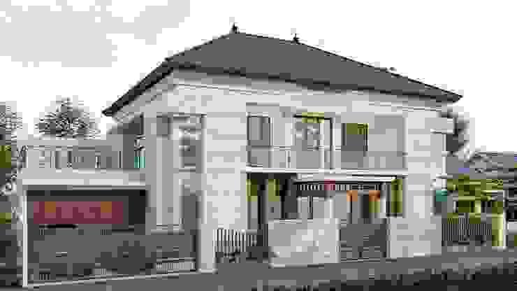 perspektif 1 Rumah Modern Oleh ARK-chitect studio Modern