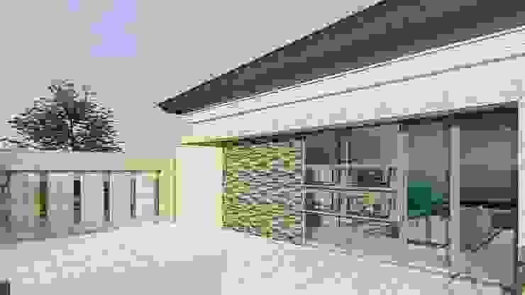 perspektif 3 Rumah Modern Oleh ARK-chitect studio Modern