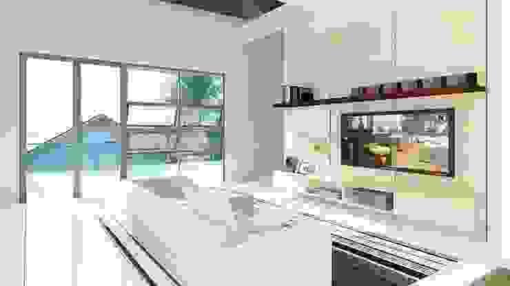 ruang keluarga Rumah Modern Oleh ARK-chitect studio Modern