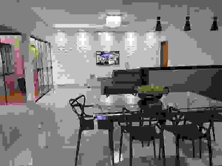 Monteiro arquitetura e interiores Cocinas pequeñas