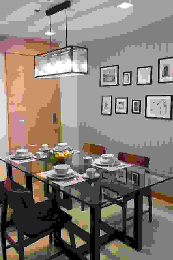 คอนโดมิเนียม เดอะ ปาล์ม บีช พัทยา : ทะเลเมดิเตอร์เรเนียน  โดย Glam interior- architect co.,ltd, เมดิเตอร์เรเนียน กระจกและแก้ว