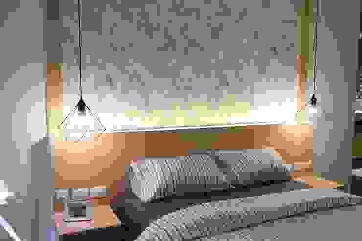 คอนโดมิเนียม เดอะ ปาล์ม บีช พัทยา : ทะเลเมดิเตอร์เรเนียน  โดย Glam interior- architect co.,ltd, เมดิเตอร์เรเนียน กระดาษ