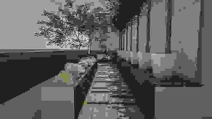 งานออกแบบสวนคุณนำพร วัชรพล Trimitcivil&engineering สวน