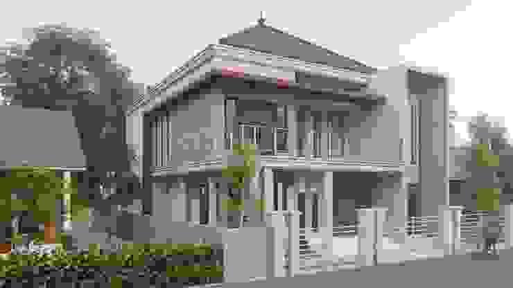 perspektif 2 Rumah Gaya Industrial Oleh ARK-chitect studio Industrial