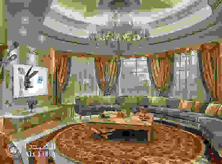 Living Room interior design for Luxury Classic Style Villa in Abu Dhabi by Algedra Interior Design Classic