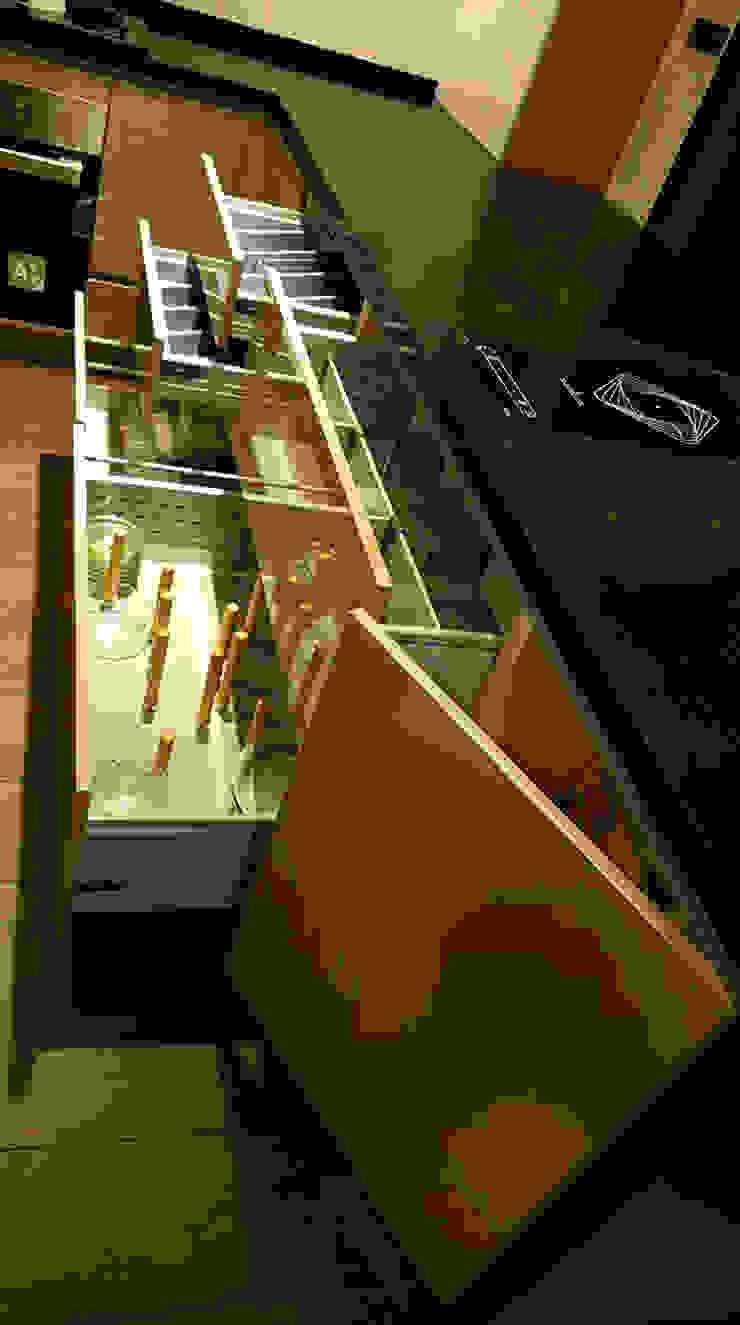 抽屜內五金組: 現代  by 微.櫥設計/We.Design Kitchen, 現代風
