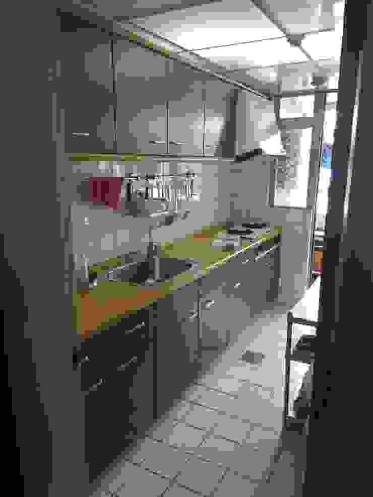 規劃前舊廚具樣貌 根據 微.櫥設計/We.Design Kitchen