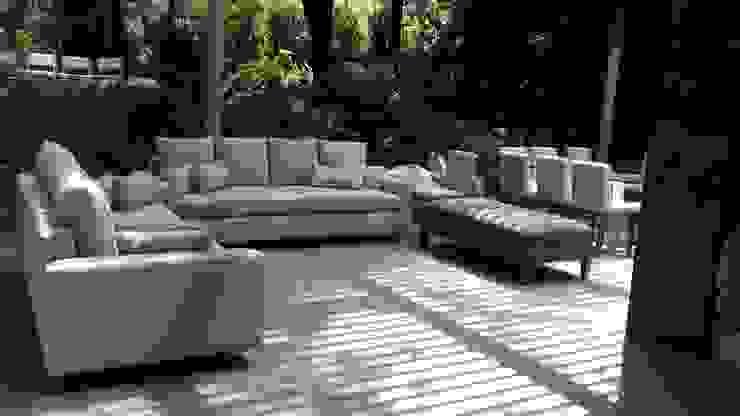 Juego de Sala Landscape Exterior de ACY Diseños & Muebles Minimalista Textil Ámbar/Dorado