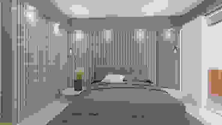 HABITACIÓN PRINCIPAL Habitaciones de estilo minimalista de Arquitecto Juan Zapata Minimalista