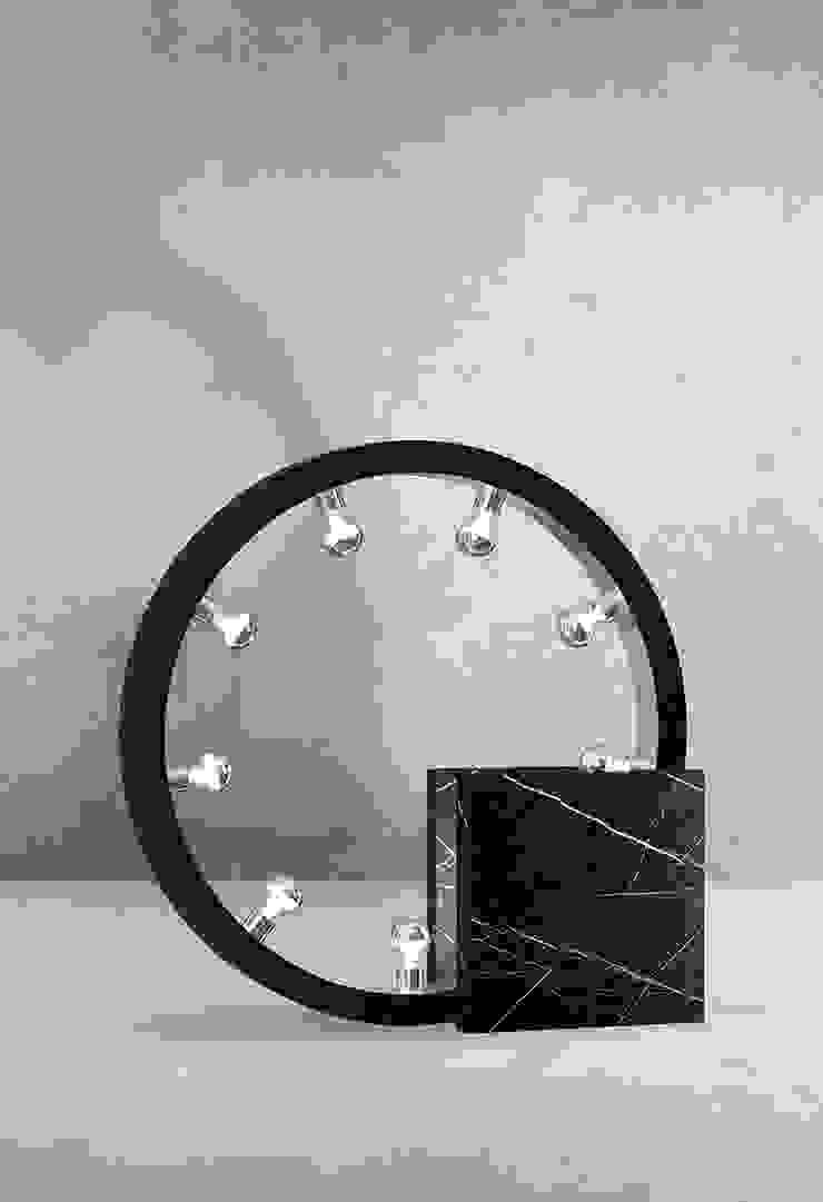 Marble bedside table lamps de Luxury Chandelier Moderno Mármol