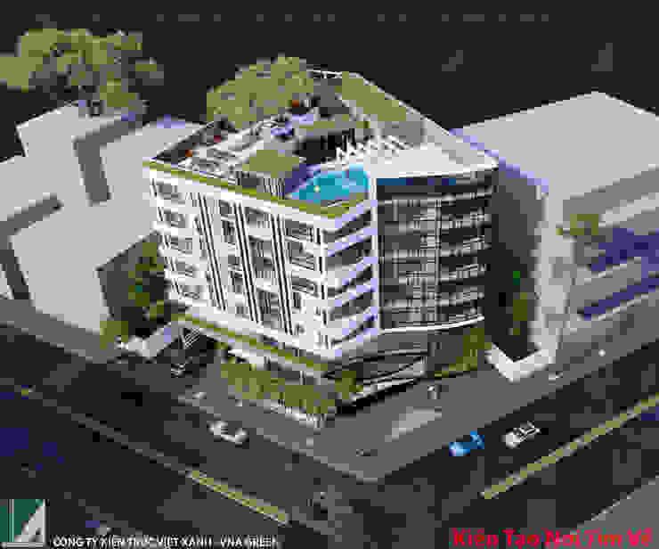 khách sạn 7 tầng - Lê Hồng Phong - Hải Phòng bởi Kiến trúc Việt Xanh