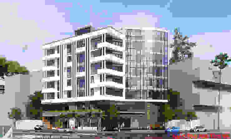 khách sạn 7 tầng – Lê Hồng Phong – Hải Phòng bởi Kiến trúc Việt Xanh