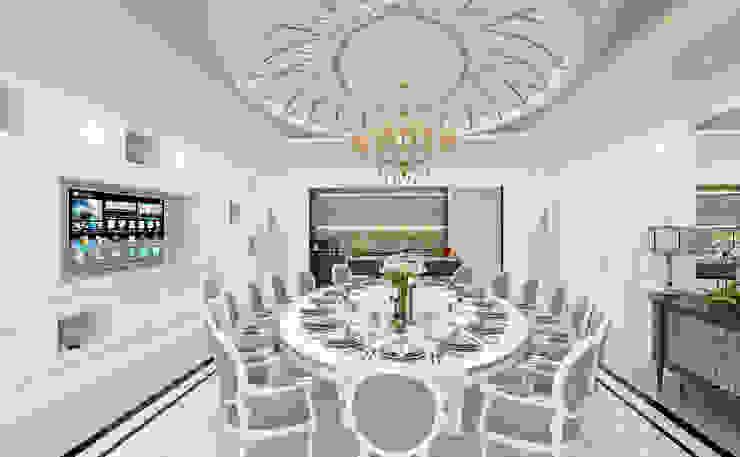 Dining Room Sia Moore Archıtecture Interıor Desıgn Classic style living room