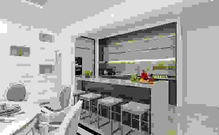 Kitchen Sia Moore Archıtecture Interıor Desıgn Classic style living room