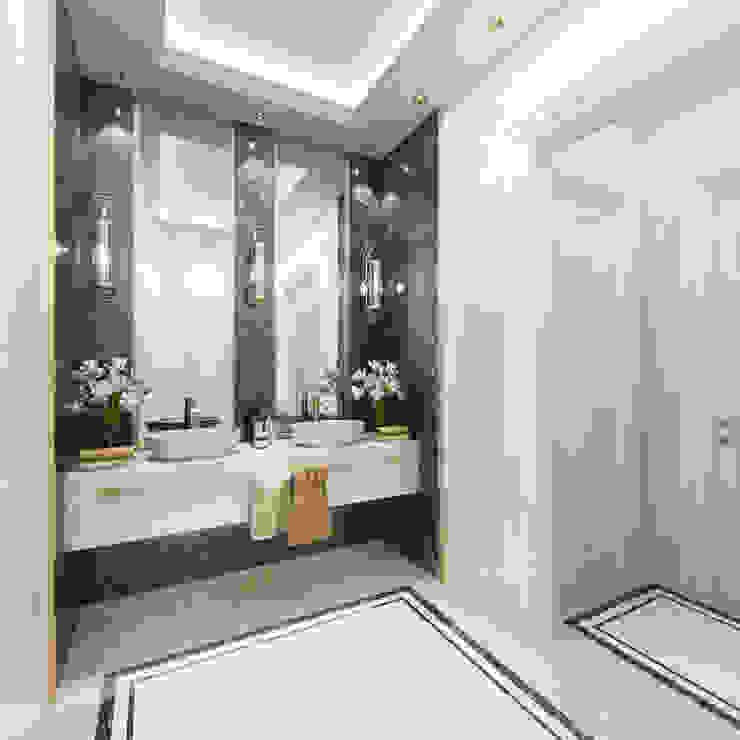 Bathroom Sia Moore Archıtecture Interıor Desıgn Classic style living room