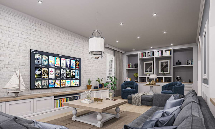 Moderne Wohnzimmer von VERO CONCEPT MİMARLIK Modern