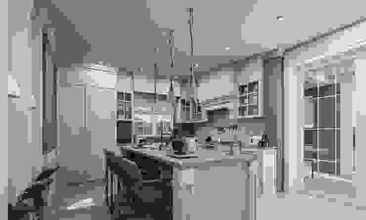 Nhà bếp phong cách hiện đại bởi VERO CONCEPT MİMARLIK Hiện đại