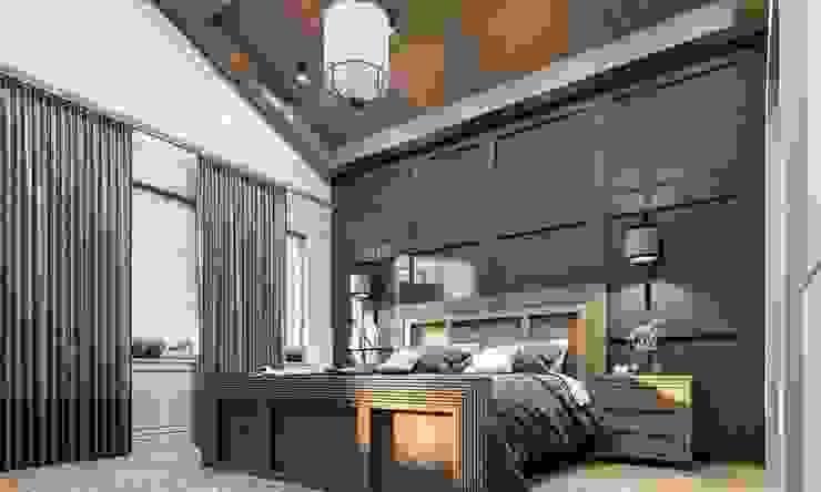 Phòng ngủ phong cách hiện đại bởi VERO CONCEPT MİMARLIK Hiện đại