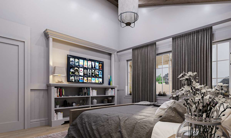 モダンスタイルの寝室 の VERO CONCEPT MİMARLIK モダン
