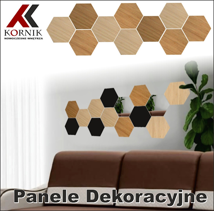 kornikdesign Living roomAccessories & decoration Bamboo Wood effect