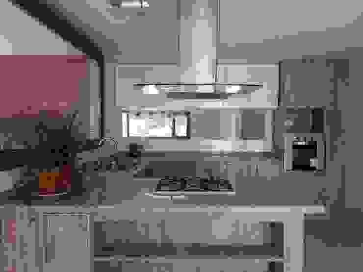 Dario Basaldella Arquitectura Built-in kitchens Engineered Wood Beige
