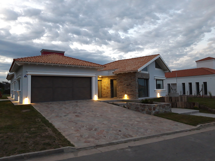Dario Basaldella Arquitectura Single family home Bricks Grey