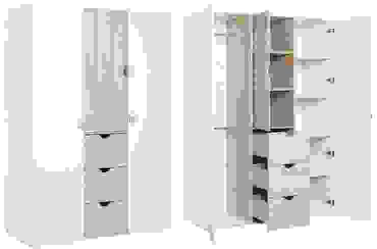 Schrank mit 3 Türen von QMM TraumMoebel Modern Holz Holznachbildung