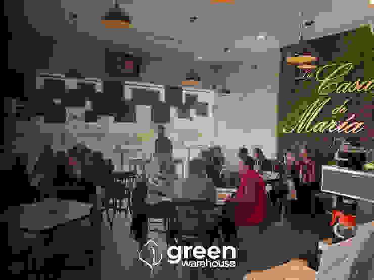 Green Warehouse Paesaggio d'interni