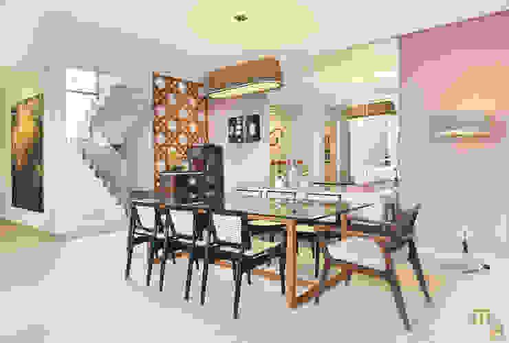 Sala de Jantar Salas de jantar modernas por Marcela Rocca Arquitetura & Interiores Moderno