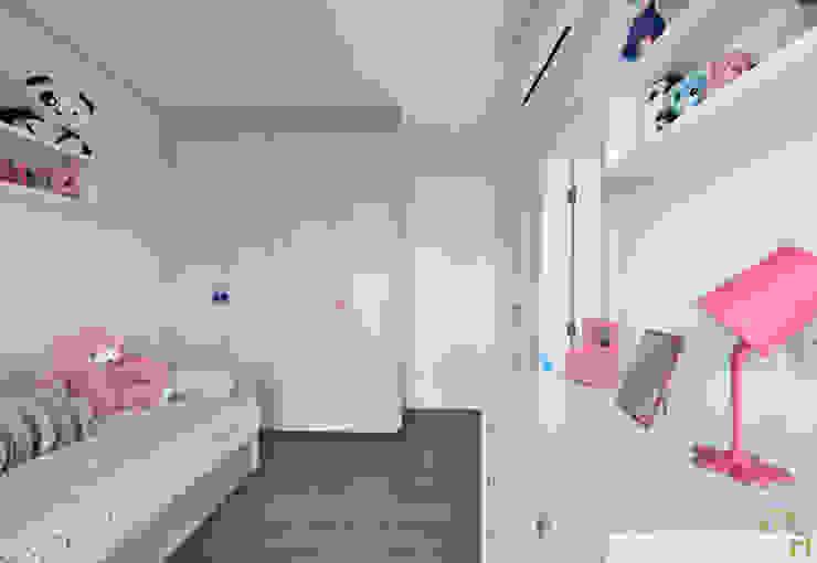 Suite Filha Menor Quartos modernos por Marcela Rocca Arquitetura & Interiores Moderno