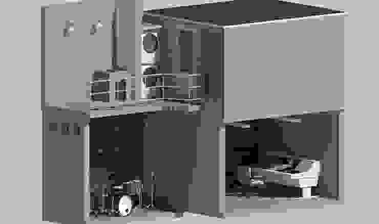 Oficinas de estilo industrial de EMKA Industrial