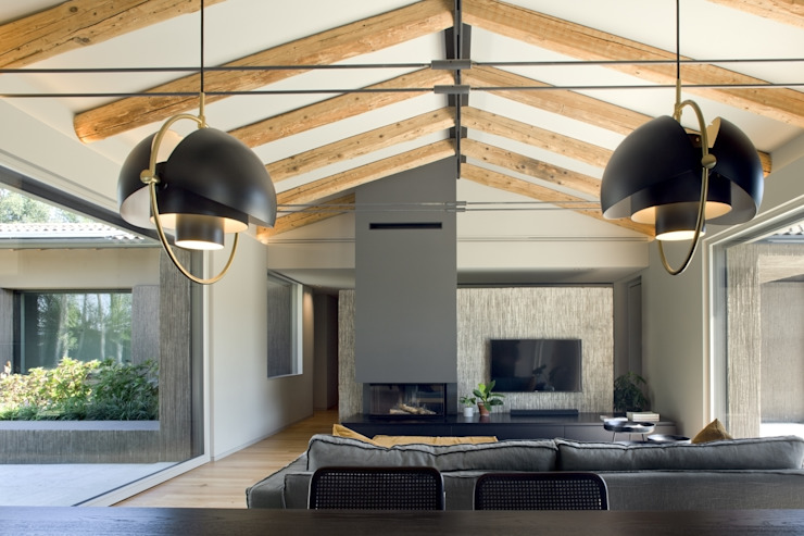 MIDE architetti Country style conservatory