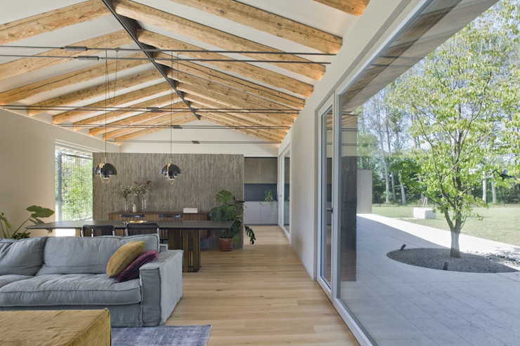MIDE architetti Country style gardens