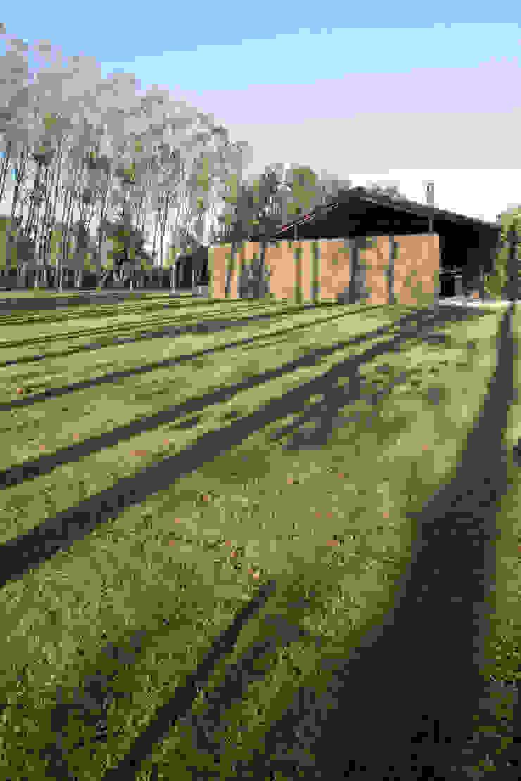 110_Abitazione in campagna Sala multimediale in stile rurale di MIDE architetti Rurale
