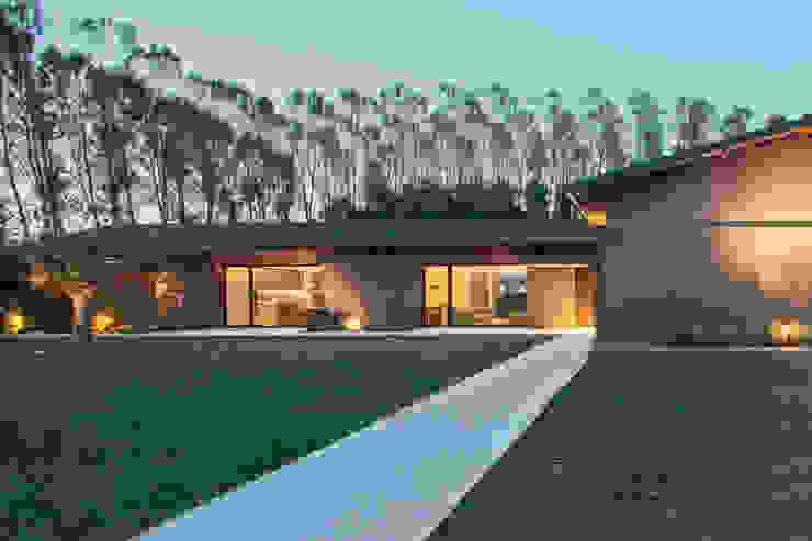 110_Abitazione in campagna Palestra in stile rurale di MIDE architetti Rurale
