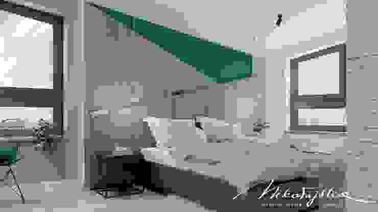 MIKOŁAJSKAstudio Dormitorios de estilo moderno