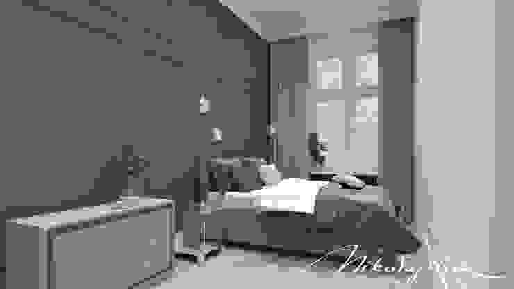 MIKOŁAJSKAstudio Moderne Schlafzimmer