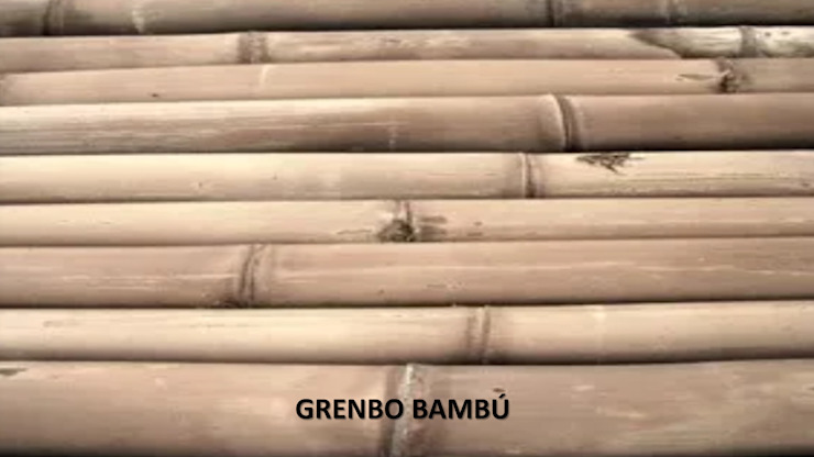 GRENBO Interior landscaping Bamboo Wood effect