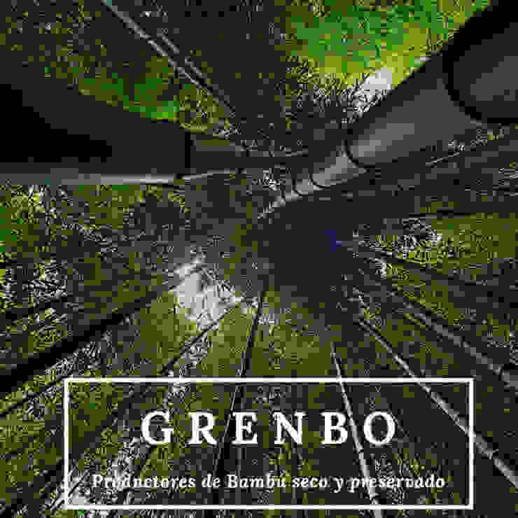 GRENBO Hotel in stile asiatico Bambù Effetto legno