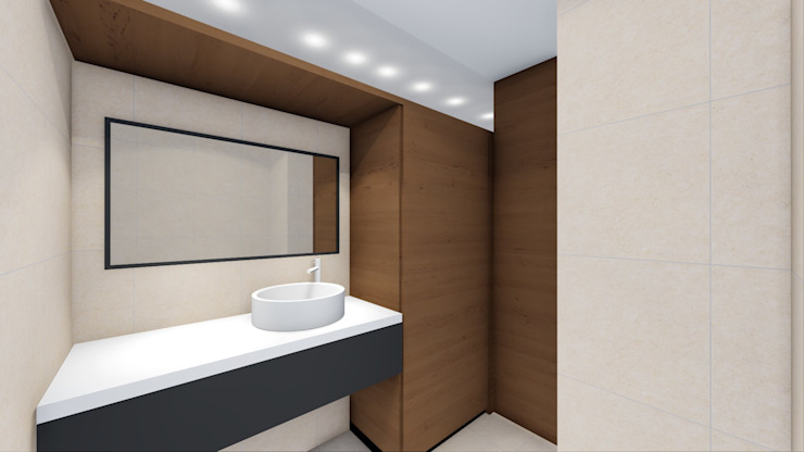 STUDIO ARCHITETTURA SPINONI ROBERTO Modern bathroom