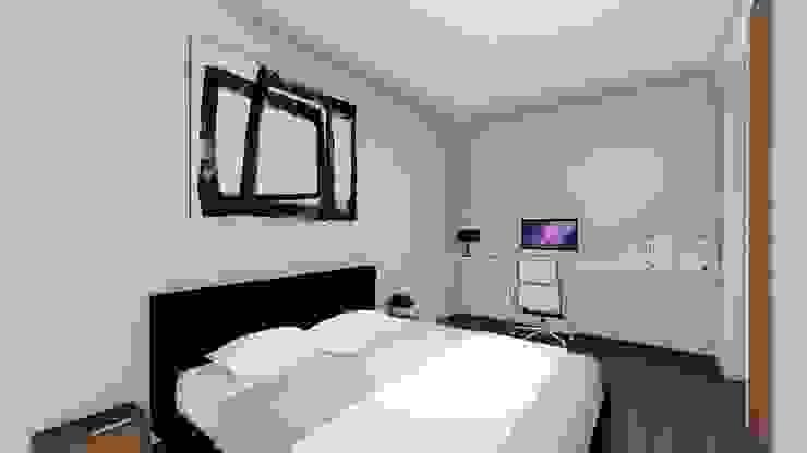 STUDIO ARCHITETTURA SPINONI ROBERTO Modern style bedroom