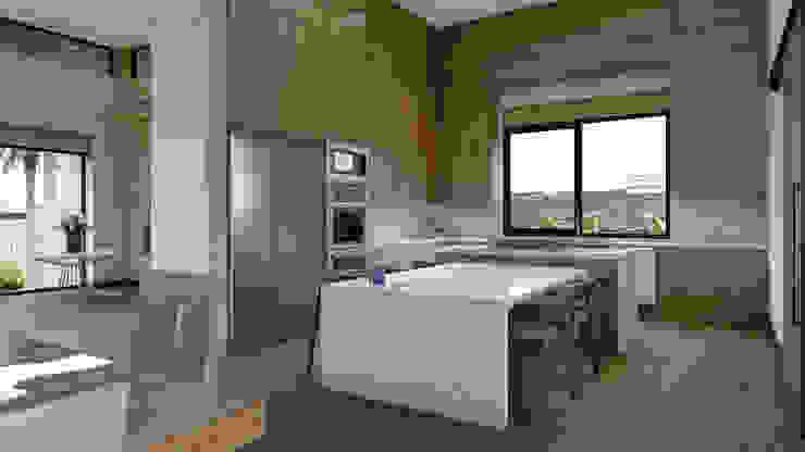 Diseño de Cocina Merarki Arquitectos Cocinas modernas