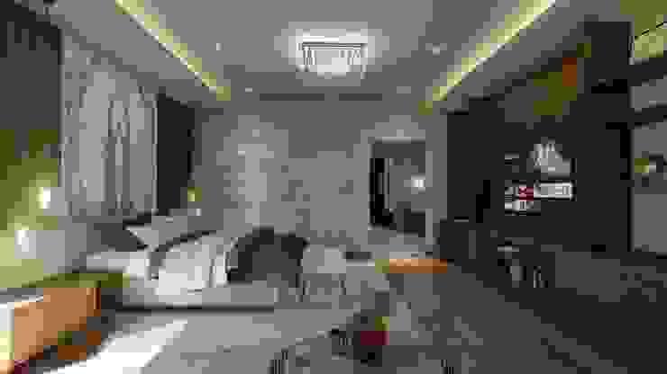 Recámara Principal Merarki Arquitectos Dormitorios modernos