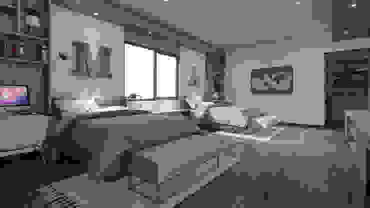 Recámara Niños Merarki Arquitectos Dormitorios modernos