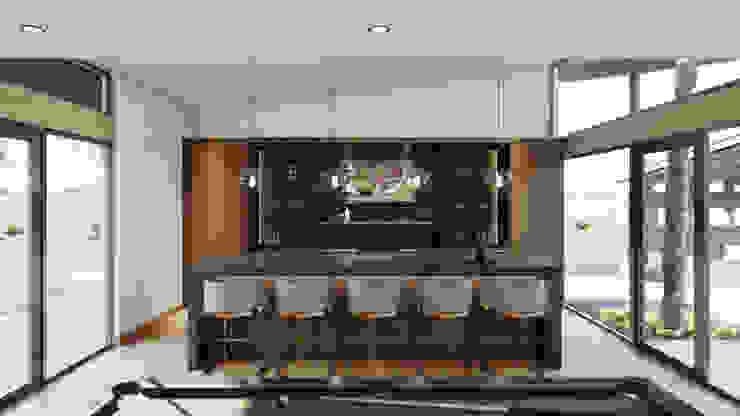 Bar Merarki Arquitectos Bodegas modernas