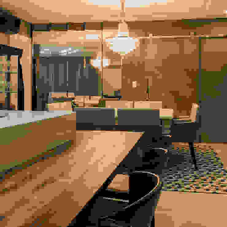 Eklektik Yemek Odası Élcio Bianchini Projetos Eklektik