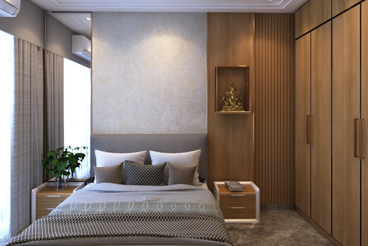 Guest Bedroom Modern style bedroom by Ask Design and Build Modern