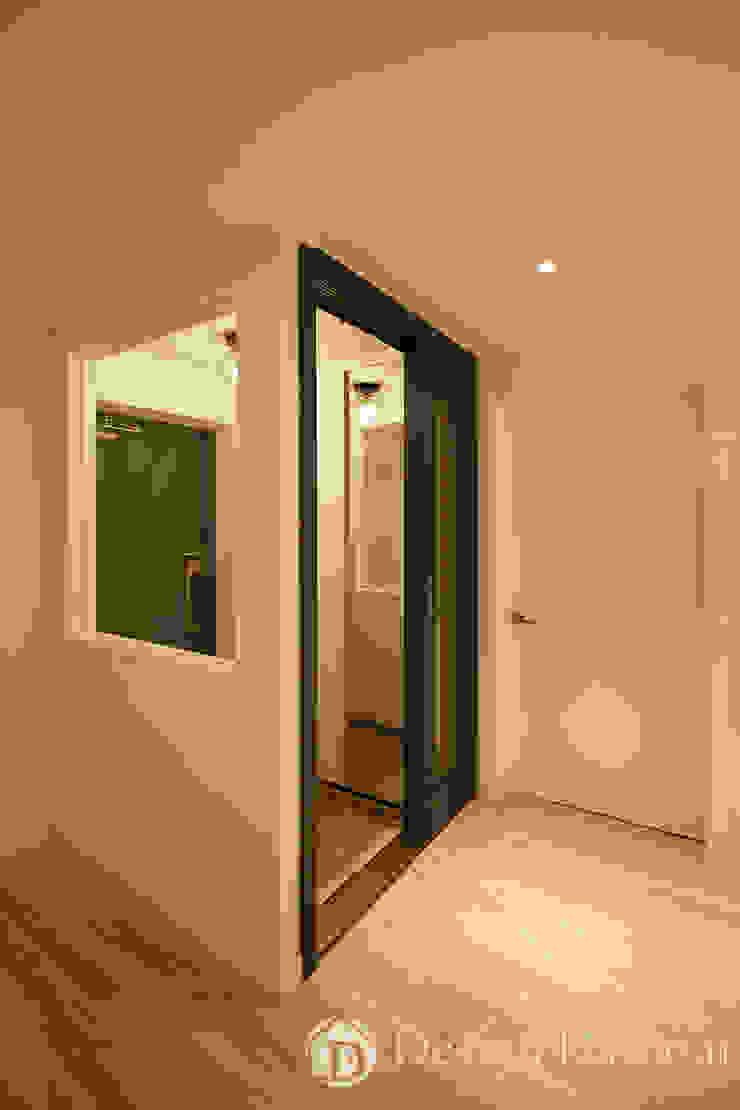 면목동 두원APT 현관 모던스타일 복도, 현관 & 계단 by Design Daroom 디자인다룸 모던